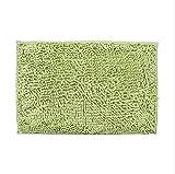 XINNA Coperta per cani in ciniglia, tessuto antiscivolo, morbida e calda (verde, S: 68,6 x 43,2 cm)