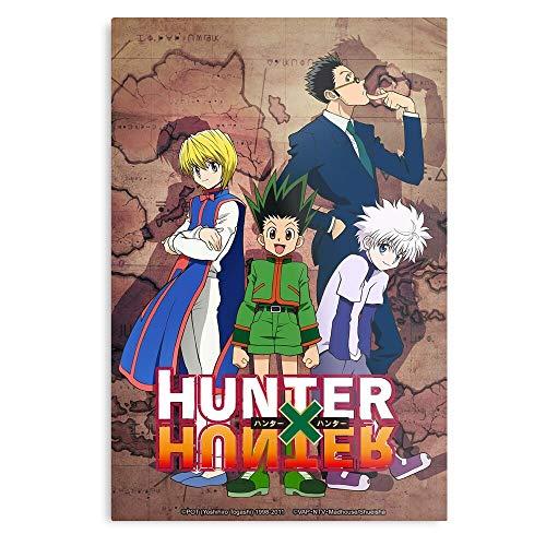 Generico Action Red Japanese Manga Japan Eyes Adventure Boys Animal Hunters Young Anime – La migliore e più recente poster per la sala di decorazione artistica da parete