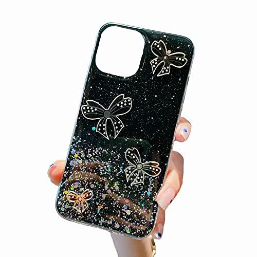 TYWZ Clear Sparkly Case voor Samsung Galaxy A82 5G, Bling Star Glitter Ontwerp voor Vrouwen Meisjes Zachte TPU…