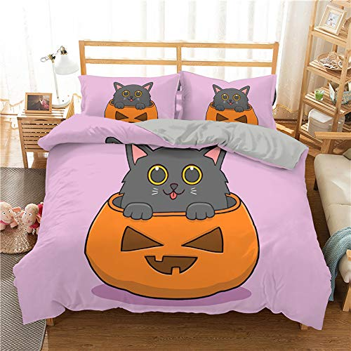 DJINGSN Modern 3D Duvet Cover Set Lovely Cats 3D Bedding Set For Adults Bedclothes 2/3pcs Single Queen King Twin Size Bed Set