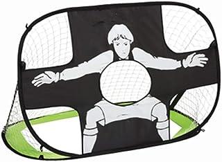 HONEI サッカーゴール ポータブル ワンタッチサッカーゴール 折りたたみ式 持ち運び便利 (緑)