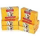 Vaadi Herbals Sandalwood Oil Bar Soap, 2.65 Ounce, Pack of 6