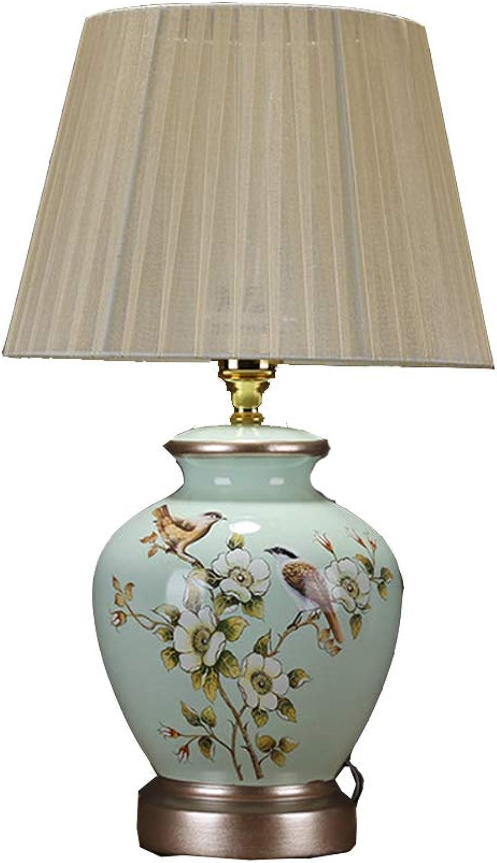 Tischlampe Schlafzimmer Nachttischlampe Wohnzimmer Arbeitszimmer Keramik Tischlampe Geschenk