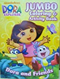 Dora the Explorer Jumbo Coloring and Activity Book [Toy] [Toy]