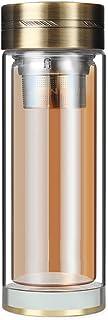 XIAOGAO Doble Capa Vidrio Cristal Botella De Agua Al Aire Libre Casa De La Cocina De 350 Ml Comercio Hombre Beber Taza