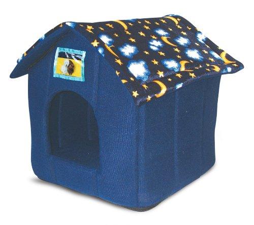 Ancol Just 4 Pets Hundehaus/ Katzenhöhle, Mond-und-Sterne-Design