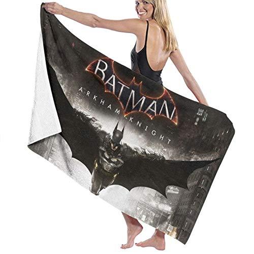 Toalla de baño portátil ligera de Batman, toalla de playa, toalla deportiva de viaje, súper absorbente, ultra compacta
