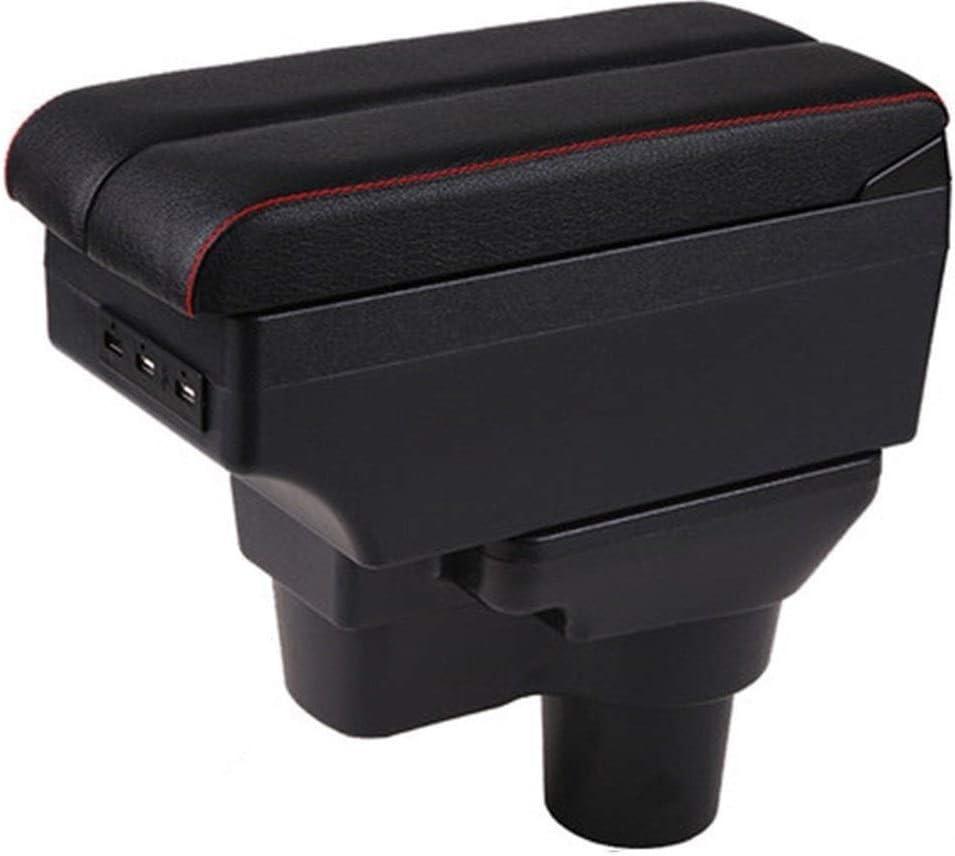 Max 80% OFF FLY MEN Armrest Box All items free shipping for Hyundai 2 USB Solaris Chargi