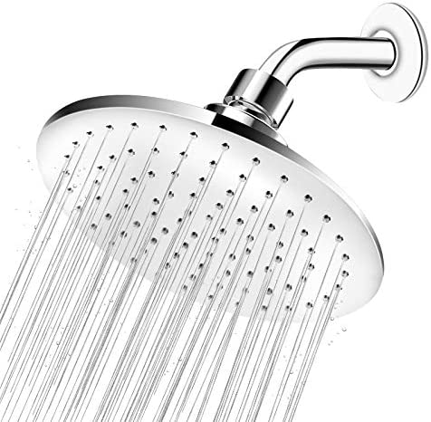 High Pressure Shower Head 9 Inch Large Rainfall Shower Head Easy Installation and Adjustable product image