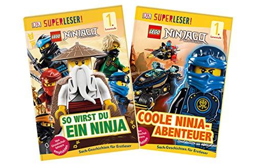 Dorling Kindersley Verlag Lego Ninjago: Superleser! - Set de videojuegos de ninja y aventuras divertidas (1º nivel de lectura)