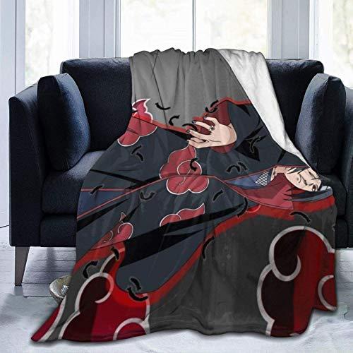 Ahdyr Fluffy Fleece Throws Decke, japanische Anime NA-ru-zu I-Tachi U-Chiha Warm halten Alternative Decke, Dekoration Rustikale Wolle Plüsch Überwürfe für Office Summer Pet, 80x60 Zoll