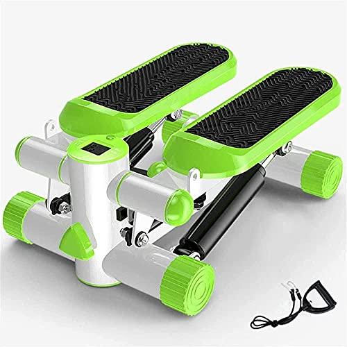DFGHBN Mini Stepper Stepper Home Fitness Attrezzature per il fitness per adulti Green Orange Fitness Stepper (Colore: Verde) -Verde