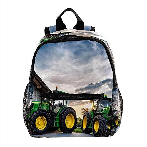 Staroutah Mochila de gran capacidad Mochila ligera Portátil multifunción para viajes deportes Escuela El mejor tractor del mundo. para niña y niño Niño