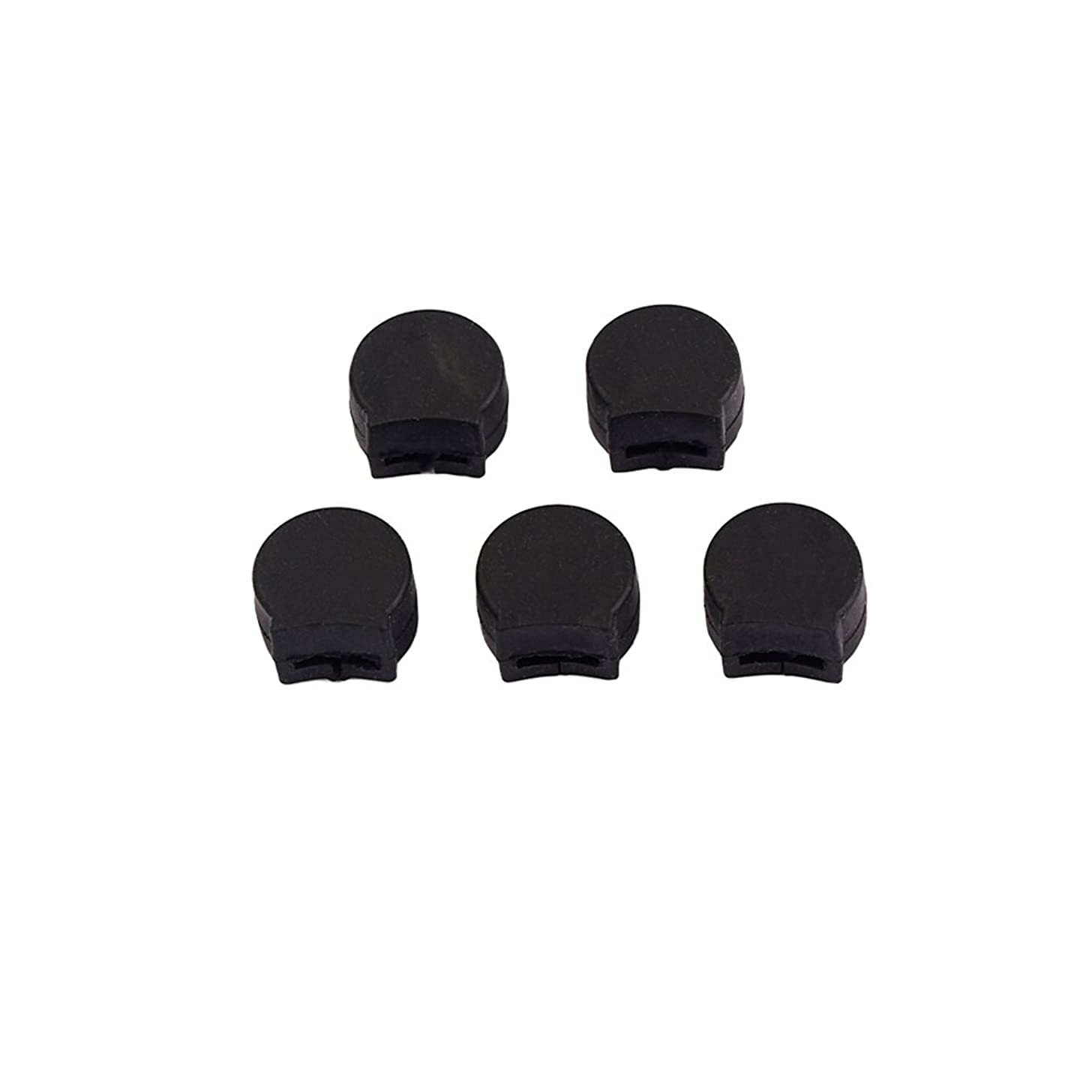 SUPVOX 5pcs Saxophone Thumb Rest Rubber Finger Cushion Pad Thumb Protector for Sax Wind Instruments