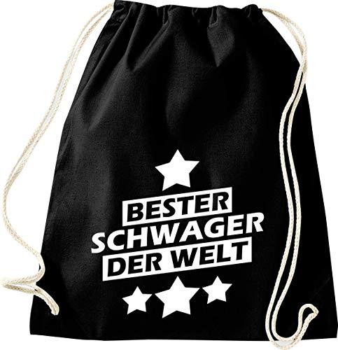 Shirtstown - Bolsa de Deporte, diseño con Texto en alemán Beste Familie...