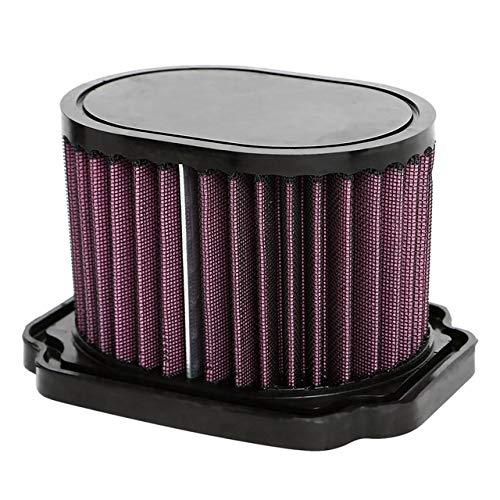 Hewen-Luftfilter High Performance Fluss Einzigartige Luftfilter for Yamaha MT-07 Fz07 Xsr700 689 2013 2014 2015 2016 Waschbar Wiederverwendbare Tauschluftfilter