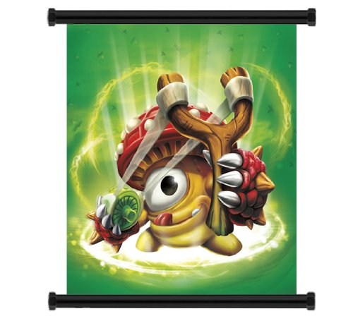 Skylanders Giants Game Fabric Wall Scroll Poster (16' x 16') Inches
