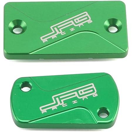Green KX250F 2004-2018 KLX450R 2008-2015 KX450F 2006-2018 GZYF Dirt Bike Front /& Rear Brake Fluid Reservoir Cover Cap Compatible with Kawasaki KX125 KX250 2003-2008 KX250 2019-2020