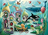 Ravensburger Underwater Wonders 100 Piece Jigsaw Puzzle with Extra Large Pieces for Kids Age 6 Years & Up