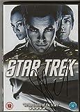 DVD AFTAL de Simon Pegg Star Trek authentique avec autographe