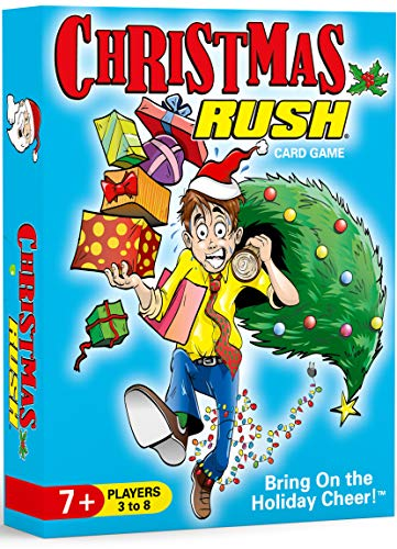 Christmas Rush - a Family Friendly Holiday Card Game - Fun for Ages 7 to Adult - 3 to 8 Players