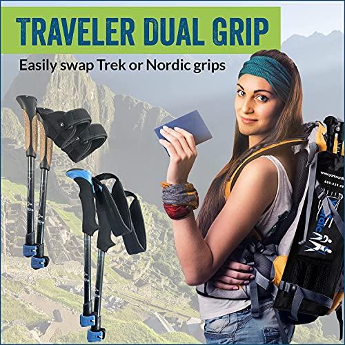 York Nordic Ultralight Folding Walking Poles