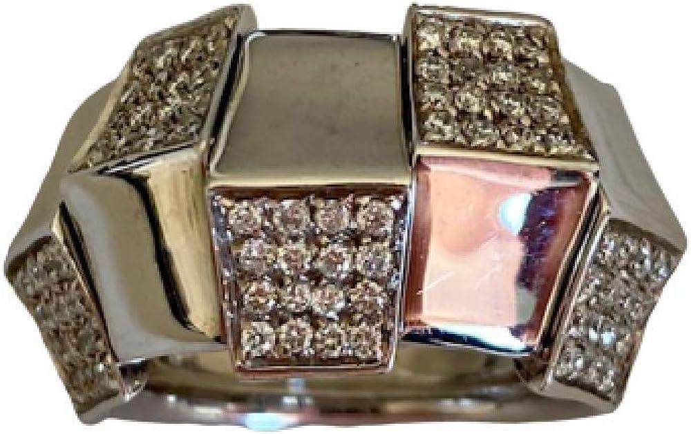 Chimento,anello per donna,in oro bianco 18k(13,3 gr) con diamanti taglio brillante per ct 0,60 1A05960BB5140