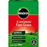 Best Grass Seeds - Miracle-Gro 119617 EverGreen Fast Grass Lawn Seed 420g Review