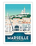 AZSTEEL Poster Marseille Le Vieux.