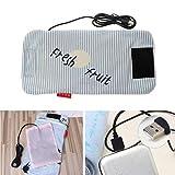 Cuigu–Bolsa isotérmica USB chauffe-Lait chauffe-Sac de Lactancia para bebé Bolsa de biberón