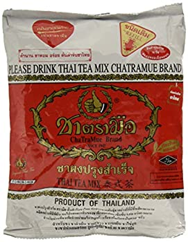 Number One The Original Thai Iced Tea Mix - Number One Brand Imported From Thailand - Great for Restaurants That Want to Serve Authentic and Thai Iced Teas 400g Bag
