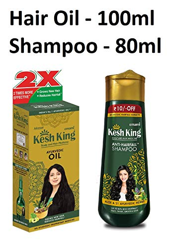 Kesh King Shampoo And Oil Combo by KESH KING