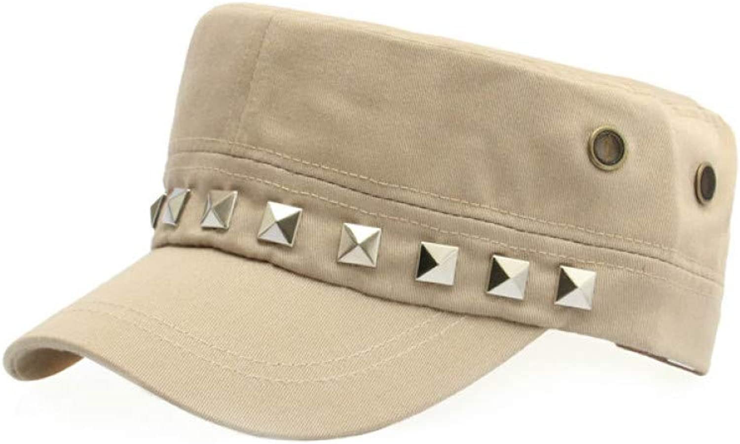 JINRMP Adjustable Flat Army Hat Men's Snapback Baseball Cap with