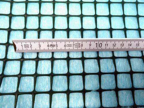 AquaFert Pflanzgitter/Plastikgitter/Moosgitter Maschenweite 20 mm PE-Kunststoff grün eingefärbt