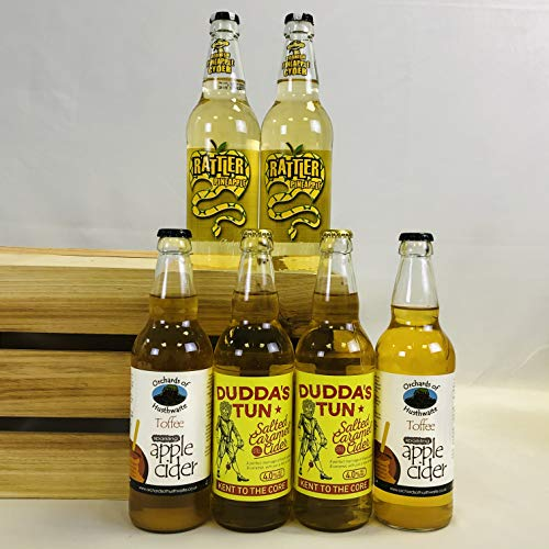 The Sweet Tooth Cider Gift Set of 6 x 500ml Bottles