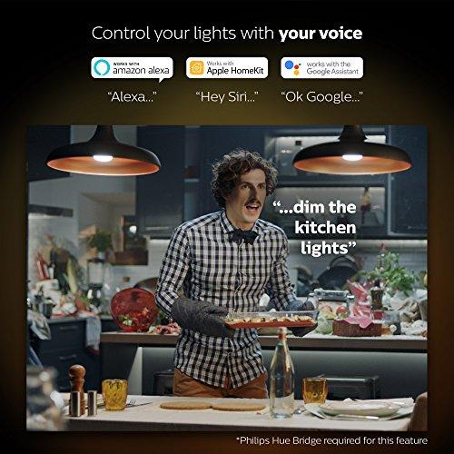 Philips Hue LED Lampe E27, 3. Generation, Einzellampe, dimmbar, 16 Mio Farben, app-gesteuert - 6