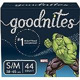 Goodnites Bedwetting Underwear for Boys, Small/Medium, 44 Ct, Discreet
