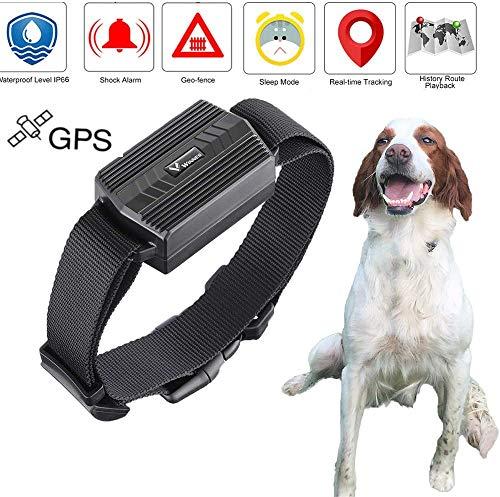 Zeekeer Localizador GPS para Perros y Gatos,Rastreador GPS