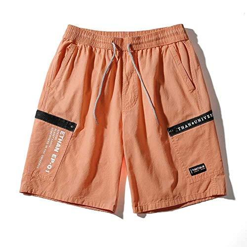 Shorts Hommes D'été Casual Hommes Coton Sports Impression Harajuku Style Shorts Lâche Respirant Confortable Cargo Shorts Hommes