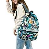 Cute Bookbag School Backpack Bag For Girls Middle School Student Kids Teen, Lightweight Water-Resistant School Backpacks For Women Ladies Travel Office Laptop -Bouquet Nylon