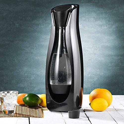Rosenstein & Söhne Wassersprudler: Eleganter Trinkwassersprudler WS-110.Soda (Getränkesprudler) - 5