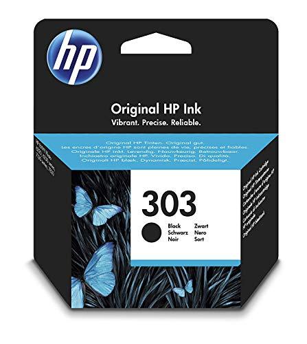 HP 303 Cartouche d'encre Noir Authentique (T6N02AE)
