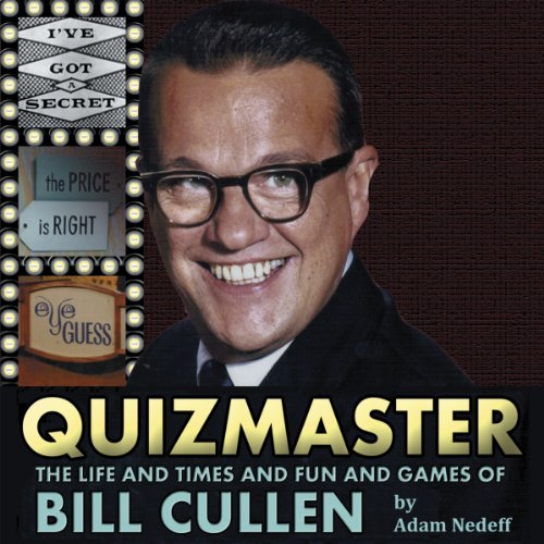 Quizmaster audiobook cover art