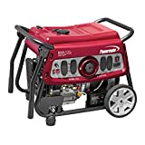 Powermate 6958 DF7500E 7500 Watt Dual Fuel Portable Generator - Electric Start/CSA Compliant