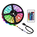 ACONDE 2M LED Streifen, USB LED Streifen Lichter...