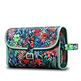 Portable Toiletry Cosmetic Travel Bag, Fintie Large Water Resistant Hanging Makeup Organizer Storage Pouch Case for Women Girls (Jungle Night)