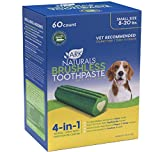 Ark Naturals Brushless Toothpaste Value Pack, Dog Dental Chews for Small Breeds, Vet Recommended for Plaque, Bacteria & Tartar Control, 1 Value Pack, Packaging May Vary