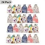 Zoom IMG-1 queta 24 sacchetti colorati in