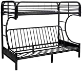 DONCO Kids Series Bed, Twin/Full, Black