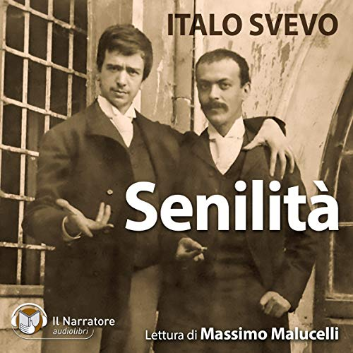 Senilità audiobook cover art